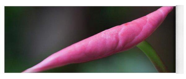 Pink Bud Yoga Mat