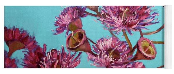 Pink Gum Blossoms Yoga Mat