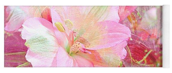 Pink Heaven Yoga Mat
