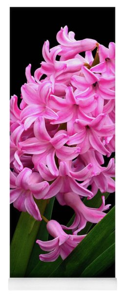 Pink Hyacinth Yoga Mat