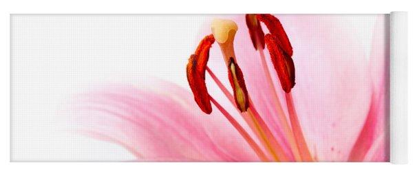 Pink Lilies 08 Yoga Mat