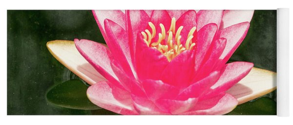 Pink Lily Yoga Mat