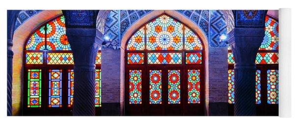 Pink Mosque, Iran Yoga Mat