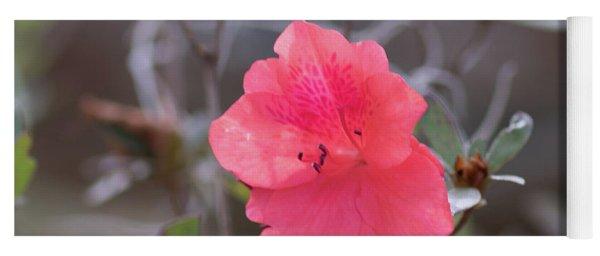 Pink Orange Flower Yoga Mat