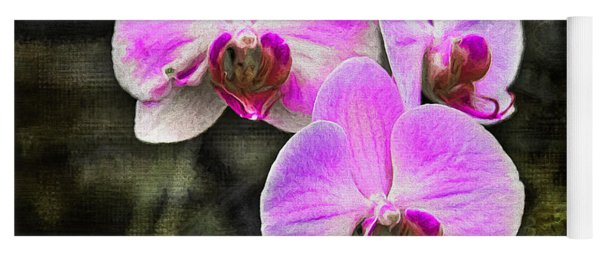 Pink Orchid Yoga Mat
