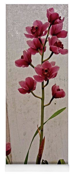 Pink Orchids In The Hothouse Yoga Mat