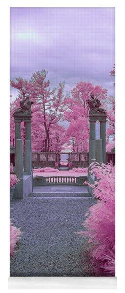 Pink Path To Paradise Yoga Mat