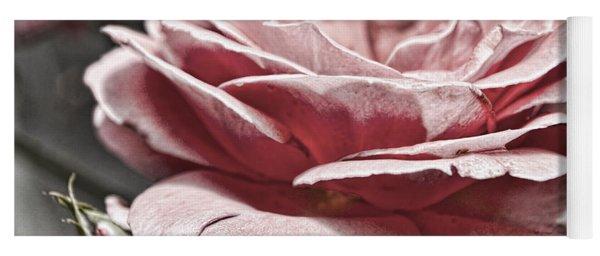 Pink Rose Faded Yoga Mat