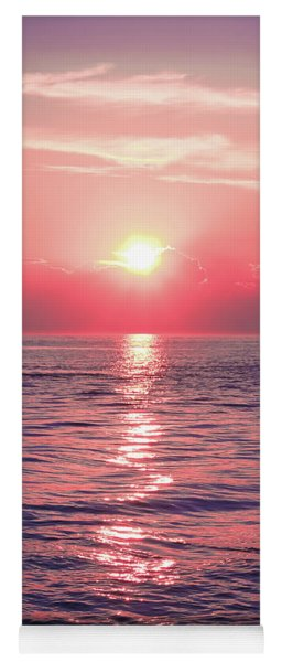 Pink Sunset Yoga Mat