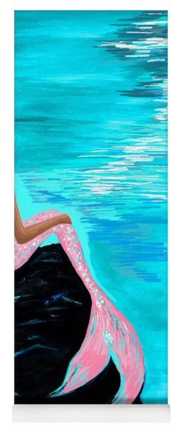 Pink Tail Yoga Mat
