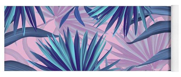 Pink Tropic  Yoga Mat