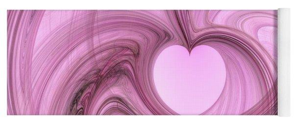 Pink Valentine Yoga Mat