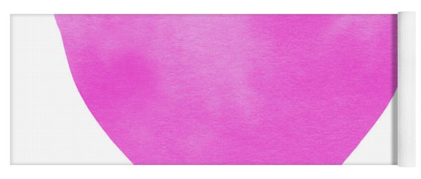 Pink Watercolor Heart- Art By Linda Woods Yoga Mat