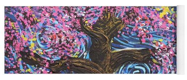 Pinky Tree Yoga Mat