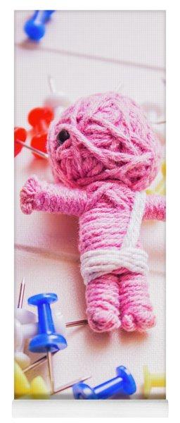 Pins And Needles Mummy Voodoo Doll Yoga Mat