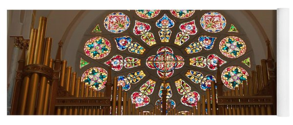 Pipe Organ - Church Yoga Mat