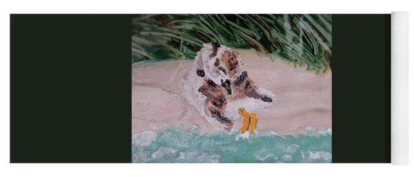 Piping Plover Chick 2 Yoga Mat