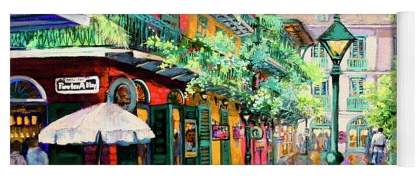 Pirates Alley - French Quarter Alley Yoga Mat