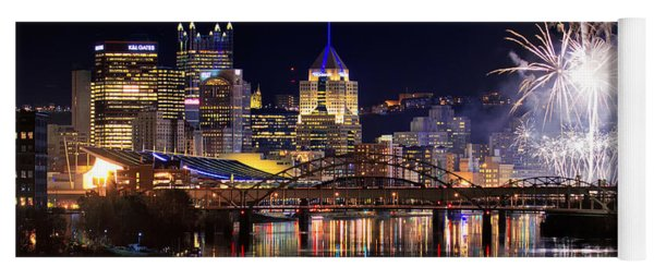 Pittsburgh 1  Yoga Mat