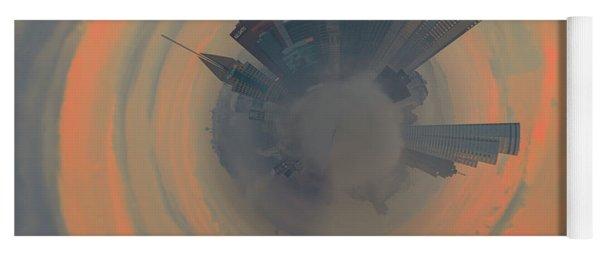 Pittsburgh Fog Little Planet  Yoga Mat