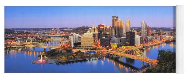 Pittsburgh Pano 22 Yoga Mat