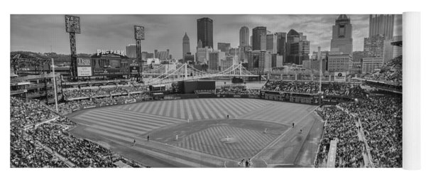 Pittsburgh Pirates Pnc Park Bw X1 Yoga Mat