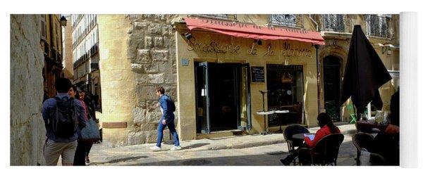 Place De Hotel De Ville Aix Yoga Mat