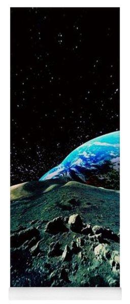 Planet Earth Wrap Art Yoga Mat