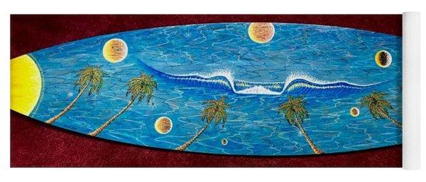 Planet Surf  Yoga Mat