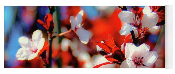 Plants And Flowers Yoga Mat