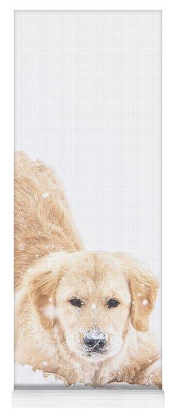 Playful Puppy Yoga Mat