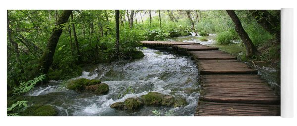 Plitvice Lakes National Park Yoga Mat