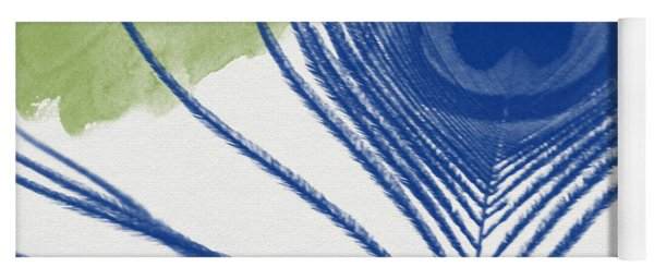 Plumage 3- Art By Linda Woods Yoga Mat