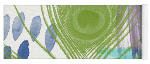 Plumage 4- Art By Linda Woods Yoga Mat