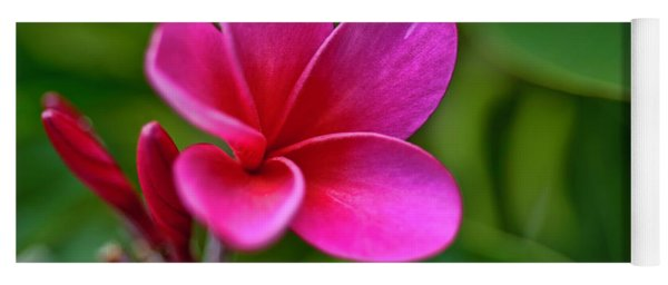 Plumeria - Royal Hawaiian Yoga Mat
