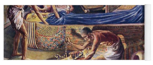 Plundering Pharaoh Theban Tomb Robbers Yoga Mat