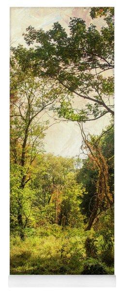 Poetic Landscape Yoga Mat