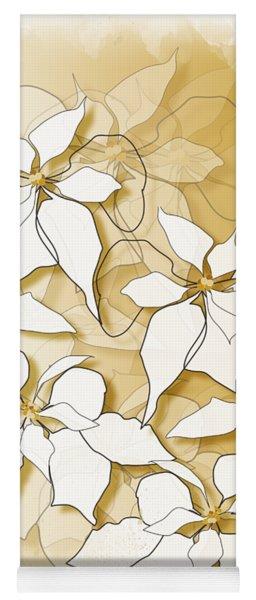 Poinsettias Yoga Mat