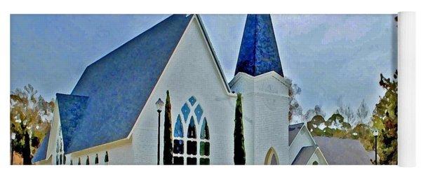 Point Clear Alabama St. Francis Church Yoga Mat