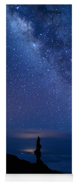 Yoga Mat featuring the photograph Pointing To The Heavens by Susan Rissi Tregoning