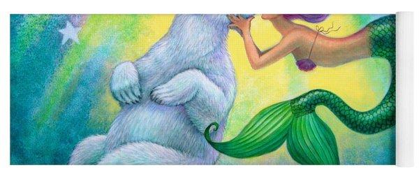 Polar Bear Kiss Yoga Mat