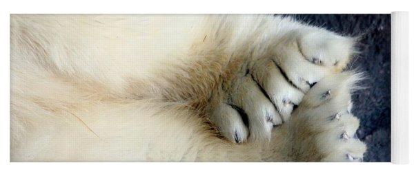 Polar Bear Paws Yoga Mat