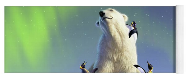 Polar Opposites Yoga Mat