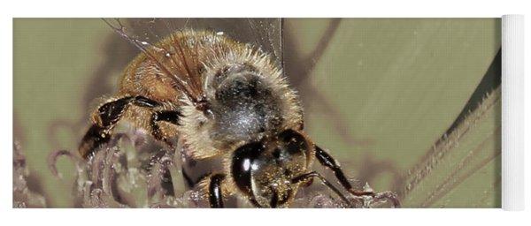 Pollinating Bee Yoga Mat