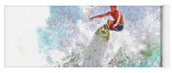 Ponce Inlet Surfer Six Yoga Mat