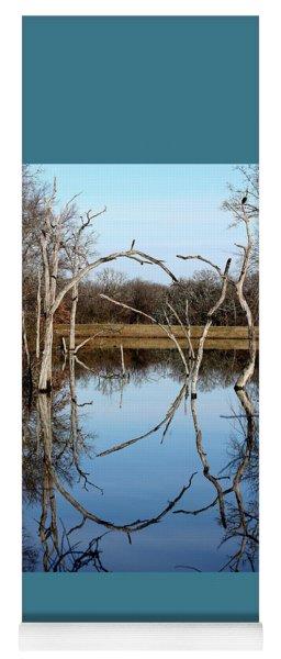 Pond Reflection  Yoga Mat