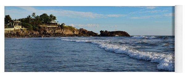 Poneloya Beach Before Sunset Yoga Mat