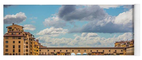 Ponte Vecchio Clouds Yoga Mat