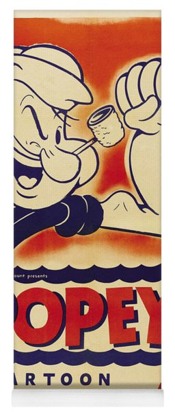 Popeye Technicolor Yoga Mat