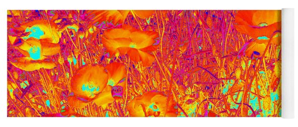 Poppies #6 Yoga Mat